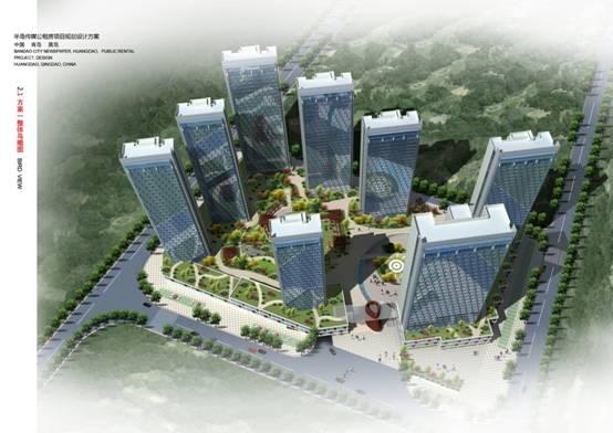 半岛传媒公租房工程二标段工程顺利中标2013-11-04
